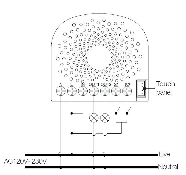 Einfacher Nano Schalter mit Energiemessung
