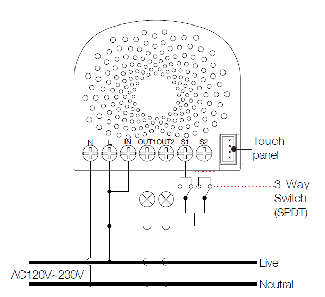 Single Nano Switch with measuring on 3 wire switch diagram, 3 way switch installation, three switches one light diagram, circuit breaker wiring diagram, 3 way switch schematic, 3 way switch electrical, four way switch diagram, 3 way switch cover, 3 way switch getting hot, two way switch diagram, easy 3 way switch diagram, volume control wiring diagram, 3 way switch with dimmer, 3 way light switch, 3 way switch wire, 3 way switch help, gfci wiring diagram, 3 way switch lighting, 3 way switch troubleshooting,