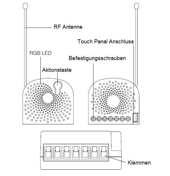 Einfacher Nano Schalter