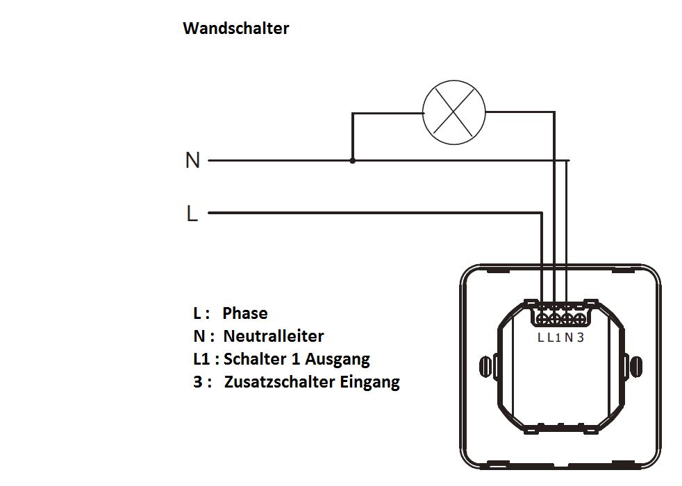Niedlich Wandlichtschalter Verkabelung Ideen - Elektrische ...