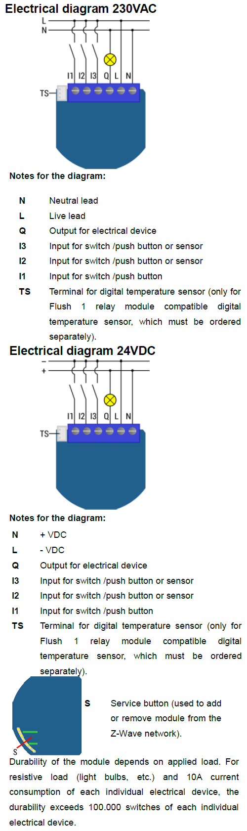 Flush 1d Relay Push Button Switch Together With Wiring Diagram On Do Not Shorten The Antenna