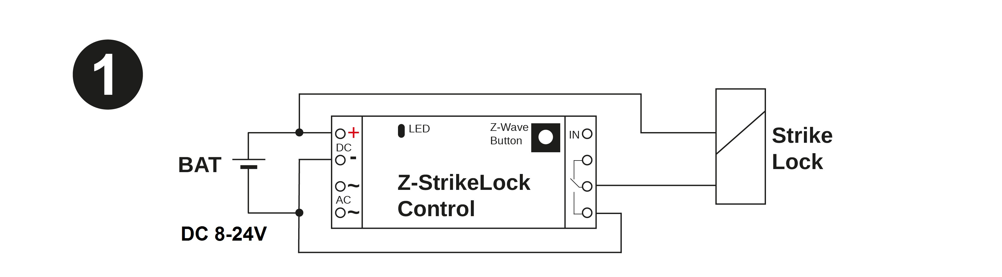 Electric Strike Lock Control Door Opener Type C Wiring Diagram You May Find Ac Power On The Spot If Is Near A Traditional Bell